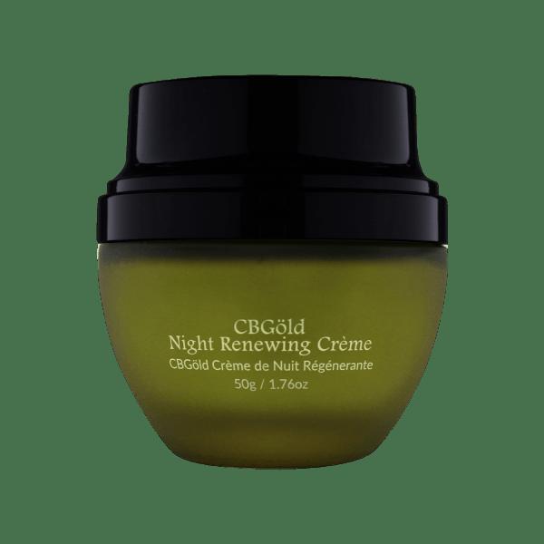 CBGöld Night Renewing Crème details
